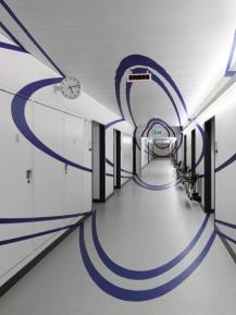 Klinik für Neurologie, Universitätsspital Kanton Zürich Kunstsammlung Kanton Zürich, Kunst am Bau Collection: Kanton Zürich Photo:André Morin